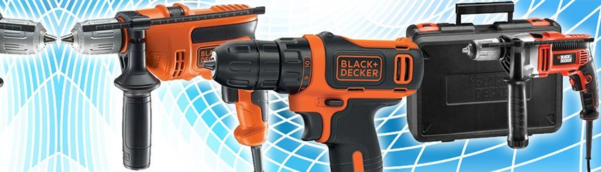 Tienda online de Taladros Black and Decker