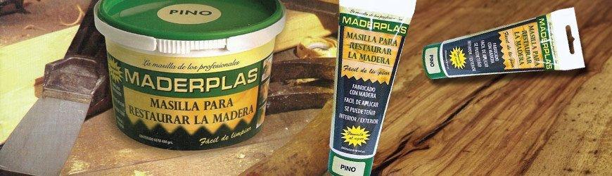 Tienda online de Masillas para reparar Madera