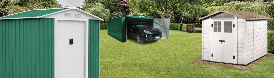 Tienda online de Casetas de Jardín y garajes exteriores