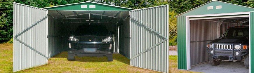 Tienda online de Garajes metálicos prefabricados