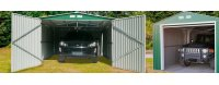 Garajes metálicos prefabricados