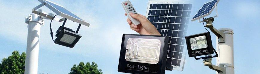 Tienda online de Focos solares