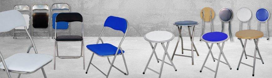 Tienda online de Taburetes y sillas plegables