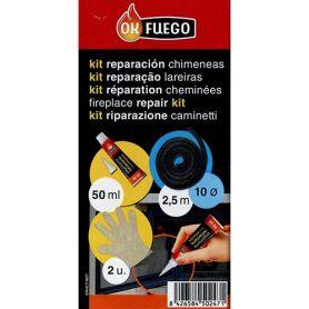 Reparatursatz Kamin und Herd Durchmesser 10 OKFuego
