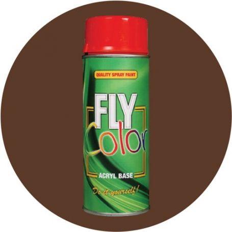 Fly Spruhfarbe 8011 200ml Braun Glanzend Nussbaum Ral Motip