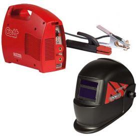 Cott Inverter welder Opti 1500 130 Amp + 50 solter
