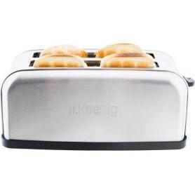 Toaster 4 Scheiben tos28 Koenig