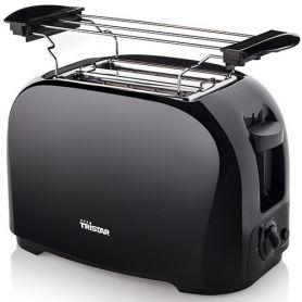 Toaster Doppel schwarz Scheibe 800w tristar