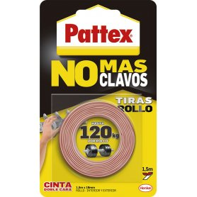 Doppel - seitiges Klebeband Pattex No More Nails 1,5m Henkel