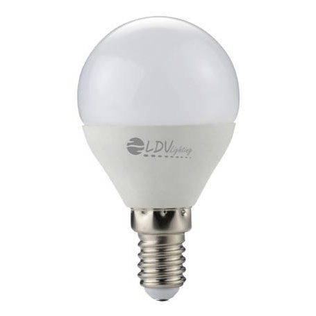 6W e14 LED - Lampe Esferica 6000k 480lm 180 Ledinnova