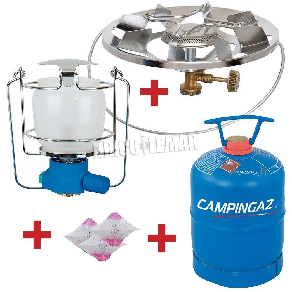 Campingaz gas//camping lámpara lumostar plus piezozündung