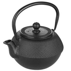 Schwarz Gusseisen Teekanne Ibili 1,20 lt