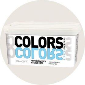 plastique gris doux peindre 2,5 lt. mat intérieur Materis