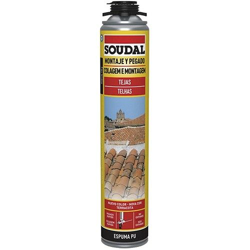 carreau de mousse de polyur thane gun 750ml soudal. Black Bedroom Furniture Sets. Home Design Ideas