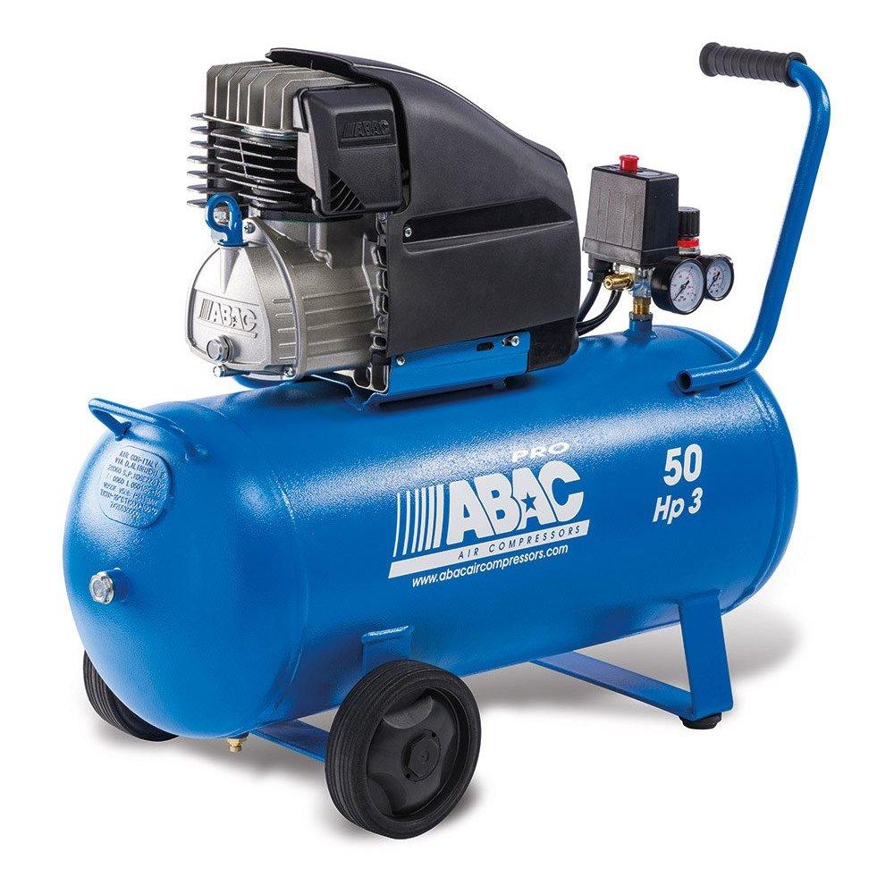 Compresor abac montecarlo l30p 3 hp 50 litros - Compresseur 50 litres ...