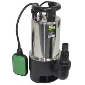 SUBMERSIBLE POMPE DRAINAGE INOX 900W MAX PUISSANCE