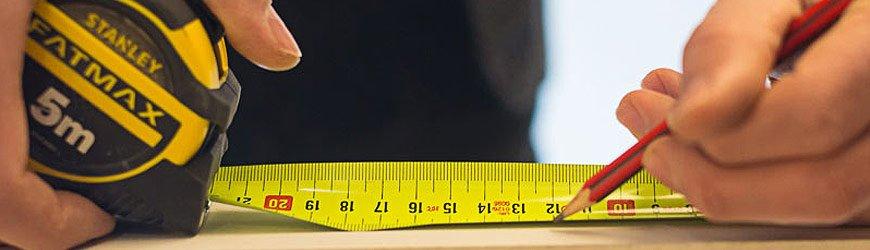 Tienda online de Flexometros y cinta metrica