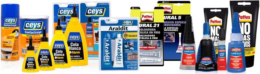 Tienda online de Adhesivos, colas y pegamentos