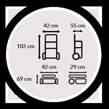 Medidas carrito LETT201