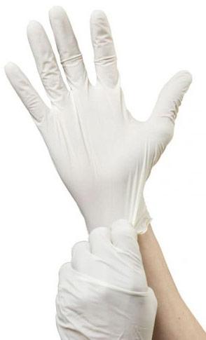 guantes desechables de latex