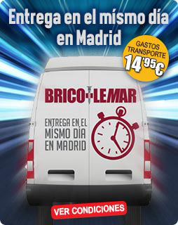 Entrega en el mismo día en Madrid