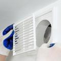 rejilla de ventilación en el baño