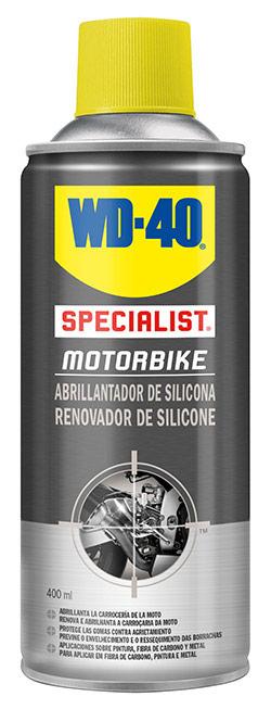 abrillantador de moto wd40