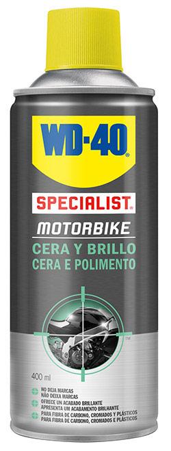 Cera para moto wd40