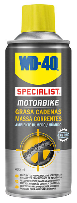 grasa para cadena de motos wd40