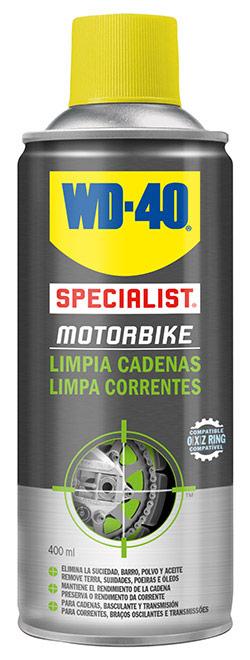 limpiador de cadenas de moto wd40