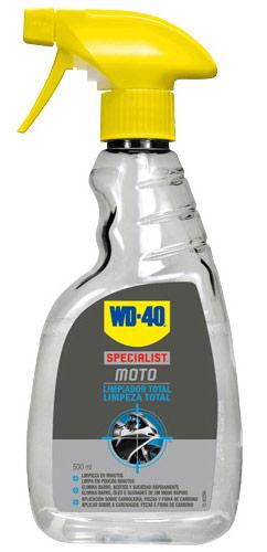 limpia motos wd40