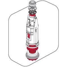 Campana universale basso serbatoio Cyclon 5 con base e insieme Fominaya