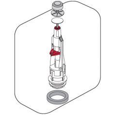 Campana universale basso cisterna Tyfon 5 basa 3G e insieme Fominaya