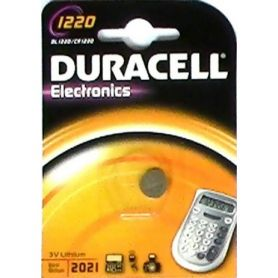 BATTERIA LITIO 1220 (1UD blister) DURACELL