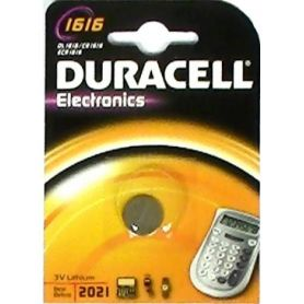 BATTERIA LITIO 1616 (1UD blister) DURACELL