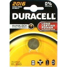 BATTERIA LITIO 2016 (1UD blister) DURACELL