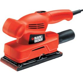 levigatrice orbitale Black & Decker