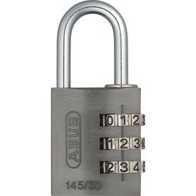 serratura a combinazione 30 millimetri in titanio Abus
