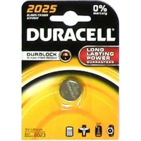 BATTERIA LITIO 2025 (1UD blister) DURACELL