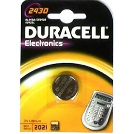 BATTERIA LITIO 2430 (1UD blister) DURACELL