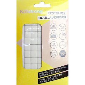 Poster Fix 65g adesivo riutilizzabile stucco bianco Kallstrong