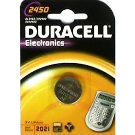 BATTERIA LITIO 2450 (1UD blister) DURACELL