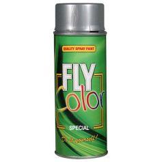 Fly spruzzo di vernice argento metallizzato 200ml Motip