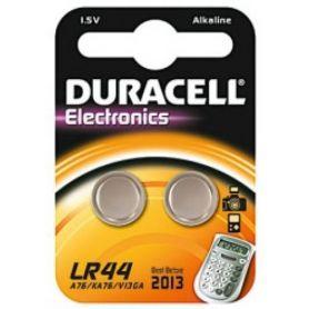 batteria alcalina LR-44 Duracell 2 unità