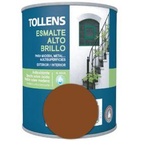 smalto ad acqua marrone lucido 0,25 lt. Tollens