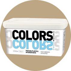 morbida plastica marrone dipingere 2,5 lt. matt interno Materis