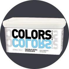 intenso plastica grigia dipingere 2,5 lt. matt interno Materis