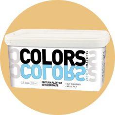 plastica morbida vernice arancione 2,5 lt. matt interno Materis