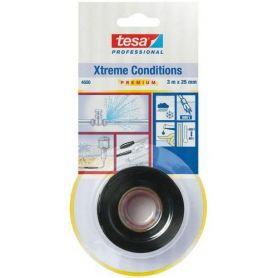 Xtreme Condizioni riparazione nastro 3m x 25mm nero 4600 Tesa