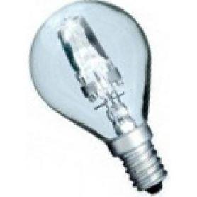 Lampada alogena 42W E14 chiaro esférica risparmio (60W) GSC Evolution